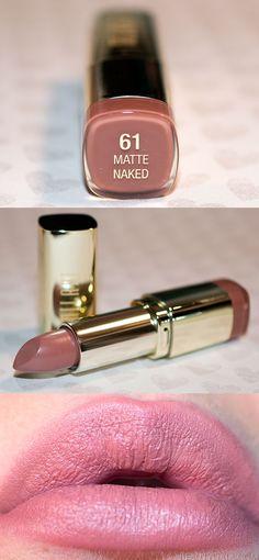 """NEW FOR 2015: Milani Cosmetics Matte Lipstick """"Matte Naked"""" @milanicosmetics"""