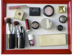 magnetic makeup storage!