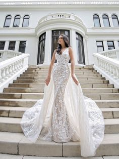 Lace Wedding Dress, Couture Wedding Gowns, Luxury Wedding Dress, Blue Wedding Dresses, Wedding Dress Shopping, Designer Wedding Dresses, Bridal Dresses, Detachable Wedding Dress, Mermaid Wedding Gowns