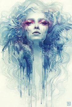Digital Art by Anna Dittmann #art #illustration