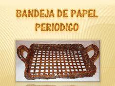 Bandeja de Papel Periodico