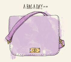 J.Crew Mini Edie Purse | bag illustration - abagaday.co.uk