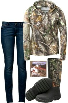 Perfect for hunting season!...complete with Brad Paisley. :)