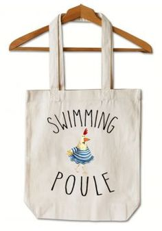 "Tote Bag ""Swimming Poule"""