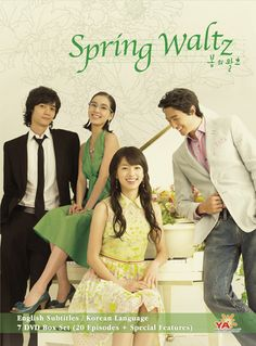 Spring Waltz- THIS is my favorite K-Drama! Though Winter Sonata got me hooked, this one has everything.