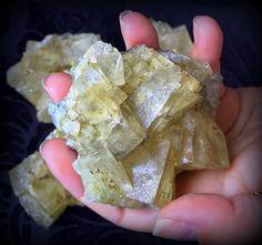 Yellow Fluorite Specimen The Money Drawing by TheSageGoddess