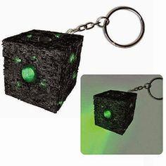 rogeriodemetrio.com: Chaveiro Star Trek Borg Cube Light-Up