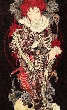 Takato Yamamoto, body parts, and bones image