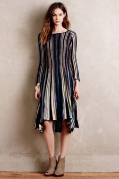 NEW-NWT-ANTHROPOLOGIE-NORA-SWING-SWEATER-DRESS-BY-MOTH-SIZE-XS