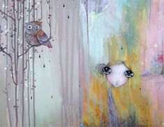 Kendra Binney painting