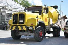 Mixer Truck, Concrete Mixers, Legends, Monster Trucks, Europe, Construction, Vintage, Bern, Pump