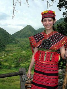 Native Dress, Banaue, The Philippines Folk Costume, Costumes, Banaue, Vietnam, Filipino Culture, Filipiniana, People Of The World, World Cultures, Traditional Dresses