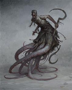 As ilustrações e artes conceituais de terror e fantasia de Bogdan Rezunenko