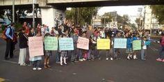 Padres de familia realizaron 34 protestas a favor de CNTE en CDMX