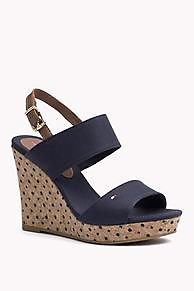 The Polkadot Wedge Sandal is the seasons highlight: from the latest Tommy Hilfiger wedges &  espadrilles collection for women. Secure payment & easy returns.