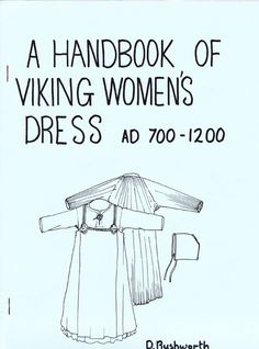 All about Handbook of Viking Women's Dress AD by D. LibraryThing is a cataloging and social networking site for booklovers Viking Garb, Viking Reenactment, Viking Dress, Medieval Costume, Medieval Dress, Viking Tunic, Medieval Fair, Norse Clothing, Medieval Clothing