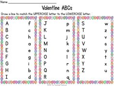 valentine's day rhyming worksheets