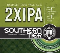 Southern Tier 2XIPA Double India Pale Ale ABV: 8.2%