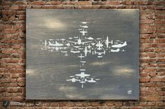 Fighter Plane Collage of Airplanes Helicopters and by frippdesign