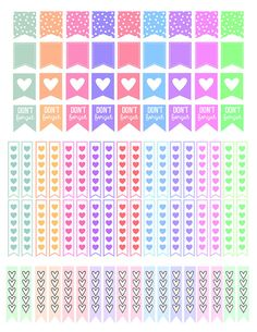 This is a set of printable stickers. The stickers are sized to fit any planner boxes including Erin Condren, Kikki K, Filofax, MAMBI Happy Planner,