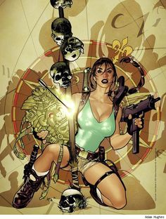 Tomb Raider - Adam Hughes