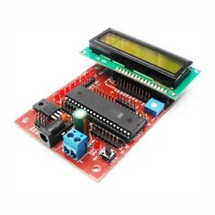 AT89SXX Development Board with LCD interfacing is a complete starter kit and development system for AT89Sxx series of Micro Controllers from ATMEL ® Corporation. It has been designed to interface 16 x 2 LCD display and gives designer a quick start to develop code on 8051 Controllers.