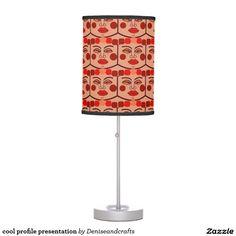 cool profile presentation table lamp