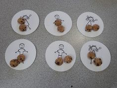 Teach division in a simple, easy to understand way. Sharing cookies with friends. Free worksheet and printable.