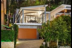 After nearly 10 years of successfully selling properties in Brisbane South, the Mark Ward Property team established a community-minded business in the heart of Salisbury in December Double Garage Door, Orange Grove, Character Home, Large Homes, First Home, The Hamptons, Modern Design, Contemporary, Architecture