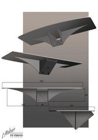 creation escalier design inox