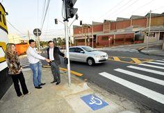 Prefeito vistoria nova sinalização na Vila Rami | Prefeitura de Jundiaí