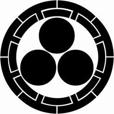 源氏輪に三つ星(げんじわにみつぼし)