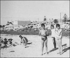 Enjoying a day at the beach in 1967 in Australia  Life in Australia 1967 as Ten year old Irish Immigrant / £10 Poms