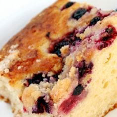 Blueberry Coffee Cake: Take a break from the ordinary with our Blueberry Coffee Cake. Slowly sink your teeth into this taste sensation and you'll find yourself in a berry wonderland created by Duncan Hines Simple Mornings Wild Maine Blueberry Muffin Mix.