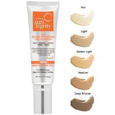 Suntegrity tinted sunscreen / Tina Richards: Independent natural anti-ageing expert