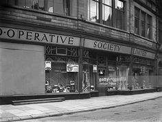size: Photographic Print: Barnsley Co-Op, South Yorkshire, Late by Michael Walters : Barnsley South Yorkshire, Coventry England, Birmingham Uk, Beach Landscape, The Old Days, Back In Time, Home Photo, Historical Photos, Old Photos