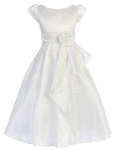 Girls Sweet Kids New Cascading Taffeta Dress ~ 8 White (Sk 416) sweet kids,http://www.amazon.com/dp/B00B4JKDCG/ref=cm_sw_r_pi_dp_UlMjrb15QAARR1FT