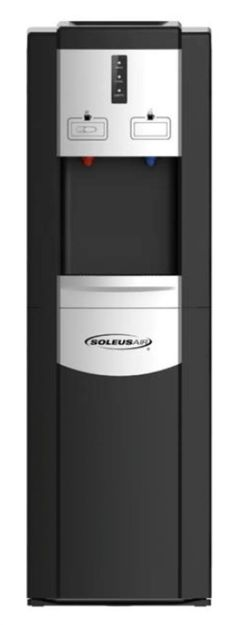 Soleus WA1-02-21A Bottom Loading Hot & Cold Bottled Water Cooler Dispenser. Also comes in silver!