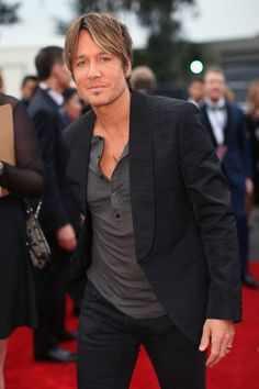 Keith Urban - Arrivals at the Grammy Awards — Part 2