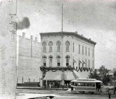 West Bridge Street - July 4, 1876