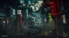Cyberpunk by cuber.deviantart.com on @deviantART