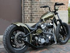 Custom Built Motorcycles : Bobber Custom Built Motorcycles : going to fix my next bike to look a little like this one
