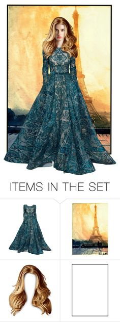 """""""ELIE SAAB"""" by vale24 ❤ liked on Polyvore featuring art"""