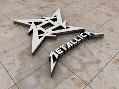 Metallica Logo -- by ~StaticVenom, via deviantART