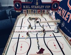 1960s Era Eagle Stanley Cup Table Hockey Game. Wayne Gretzky, Hockey Games, Stanley Cup, Nhl, Backyard, 1960s, Eagle, Model, Check