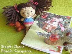 tutorial04 Free printable Christmas cards!! by Fieltrunguis, via Flickr