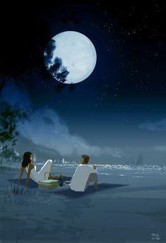 Rêve clair de lune