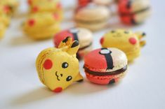 Macarons Pokémon : Pokeball et Pickachu #PokemonGo – Sunny Délices