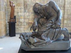 Mojžíš- František Bílek Old Testament, Rodin, Art Nouveau, Modern Art, Larger, Lion Sculpture, Old Things, Museum, Fine Art