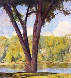 Elm Tiges de Daniel Garber (1880-1958, United States)